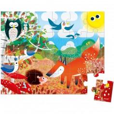 Puzzle forêt (24 pièces)