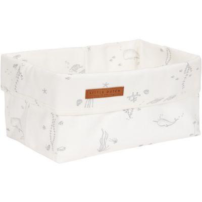 Panier de toilette Ocean white (25 x 15 cm)