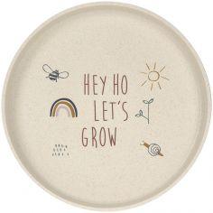 Assiette Hey ho let's grow vert Garden Explorer