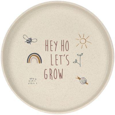 Assiette Hey ho let's grow vert Garden Explorer  par Lässig