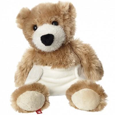 Peluche ours avec couche (30 cm) Sigikid
