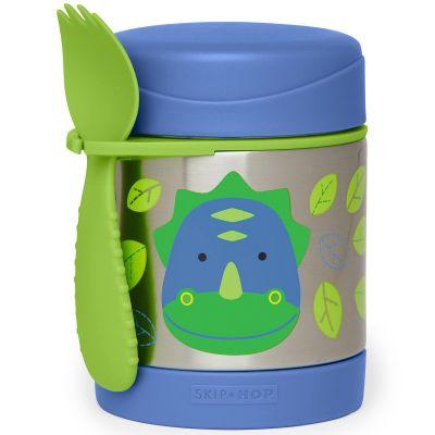 Thermos alimentaire Zoo Dinosaure (325 ml)  par Skip Hop