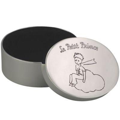 Boîte à dents Le Petit Prince nuage personnalisable (métal argenté)  par Aubry-Cadoret