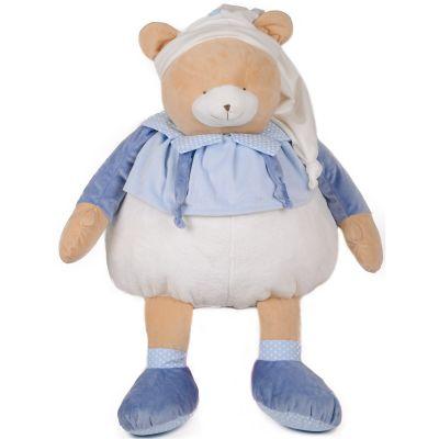 Peluche ours Petit chou bleu (80 cm) Doudou et Compagnie
