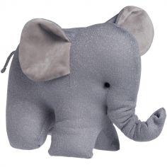 Peluche éléphant gris Sparkle (30 cm)