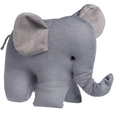 Peluche éléphant gris Sparkle (30 cm)  par Baby's Only
