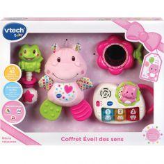 Coffret jouets Éveil des sens rose