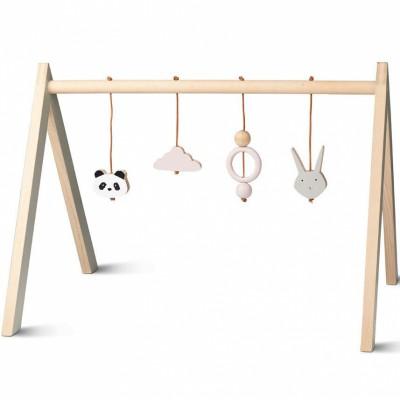 Arche de jeux en bois rose  par Liewood