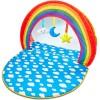 Tapis d'éveil 2 en 1 avec arches Baby Gym (100 x 76 cm) - Kid Active