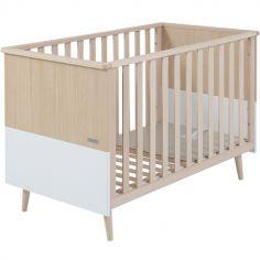 Lit bébé à barreaux Nature (60 x 120 cm)