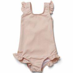 Maillot de bain 1 pièce anti-UV Tanna coral blush (1-3 ans)