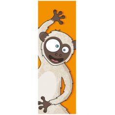Tableau tête de singe (20 x 60 cm)