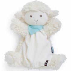Doudou marionnette Vanille l'agneau Les amis (30 cm)