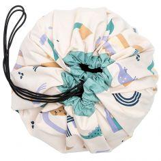 Sac à jouets 2 en 1 Animal letters