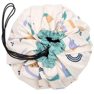 Sac à jouets 2 en 1 Animal letters Play&Go