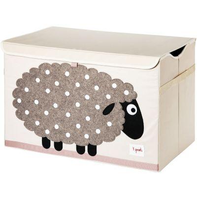 Coffre à jouets caisse de rangement Mouton  par 3 sprouts