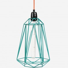Lampe baladeuse Diamond 5 bleu et orange