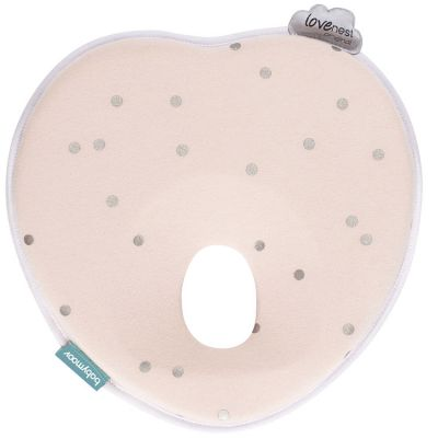 Coussin anti tête plate Lovenest original pink Babymoov