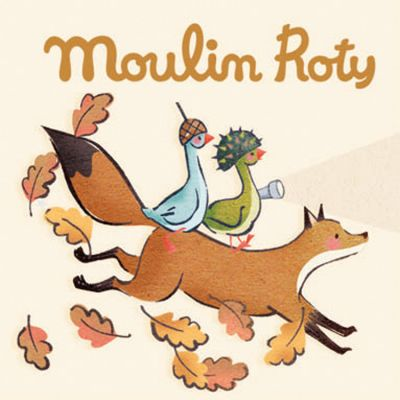 Lot de 3 disques pour lampe à histoires Le voyage d'Olga  par Moulin Roty