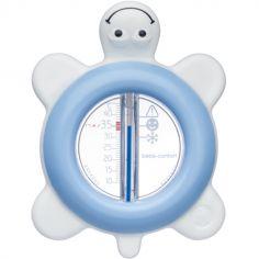 Thermomètre de bain tortue bleue