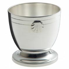 Coquetier Coquille (métal argenté)