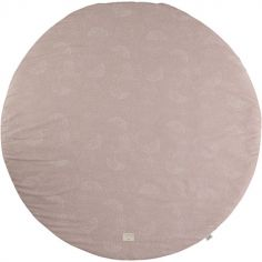 Tapis de jeu Full Moon White Bubble Misty Pink (105 cm)