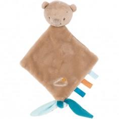 Mini doudou Basile l'ours