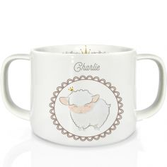 Tasse en porcelaine Mouton (personnalisable)