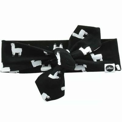 Bandeau bébé Lama noir et blanc  par Jollein