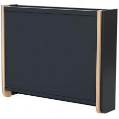 Table à langer murale en bois de hêtre Confort gris
