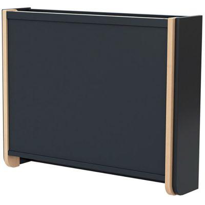 Table à langer murale en bois de hêtre Confort gris  par AT4