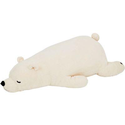 Peluche géante ours polaire Shiro (75 cm)  par Trousselier