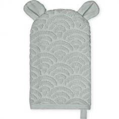 Gant de toilette ours gris