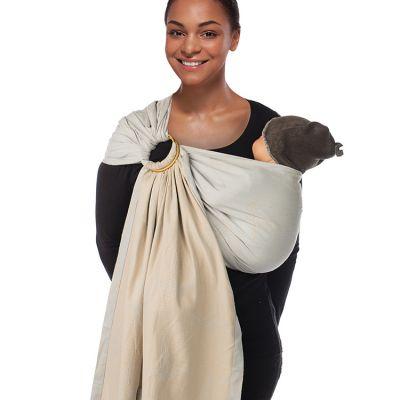 Echarpe de portage BB-sling avec anneaux Colibri (2,1 m)  par Babylonia carriers