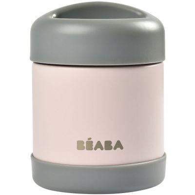 Thermos alimentaire dark mist et light pink (300 ml) Béaba