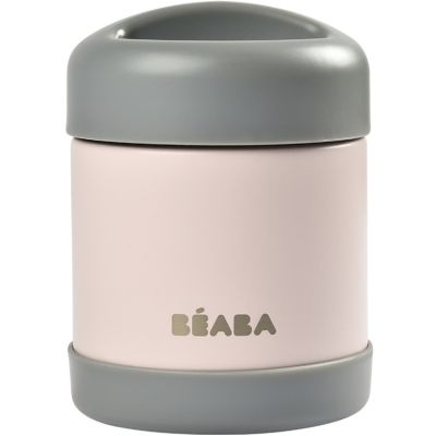 Thermos alimentaire dark mist et light pink (300 ml)  par Béaba