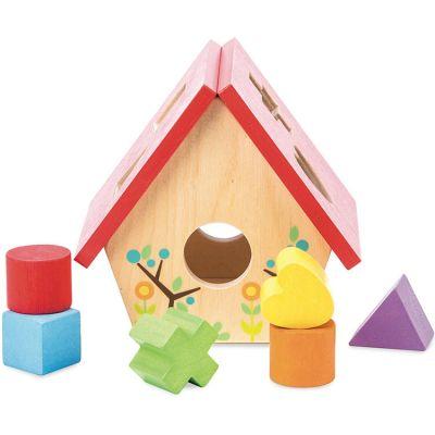 Boîte à formes Maison d'oiseau Le Toy Van