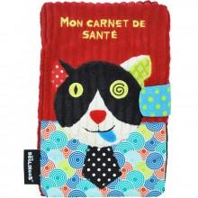 Protège carnet de santé Charlos le chat  par Les Déglingos