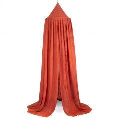 Ciel de lit rouille (245 cm)