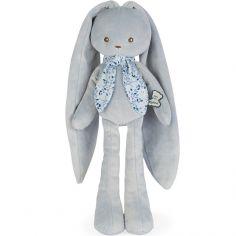 Peluche Lapinoo pantin lapin bleu (35 cm)