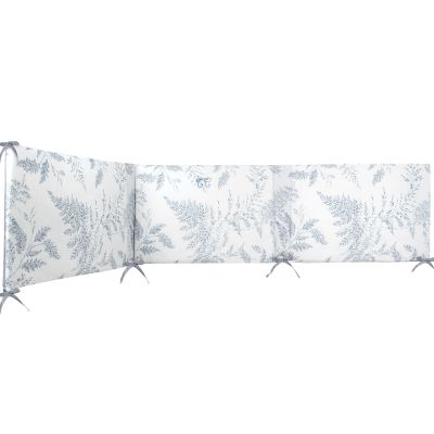 Tour de lit réversible Feuillage (pour lits 60 x 120 cm et 70 x 140)  par Tartine et Chocolat