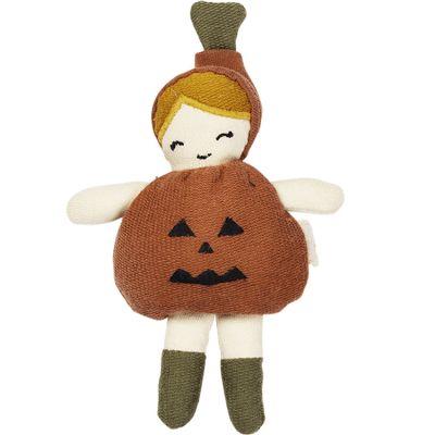 Mini poupée Halloween petite citrouille (14 cm)  par Fabelab