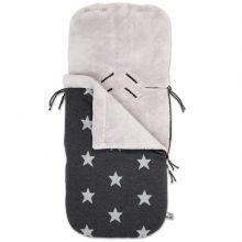 Nid d'ange passe-sangle Star gris anthracite et gris (40 x 86 cm)  par Baby's Only