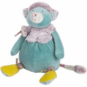 Peluche chat bleu Les Pachats (33 cm) - Moulin Roty
