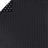 Housse de couette pour berceau Silver Star bleu foncé (80 x 80 cm) - Moepa