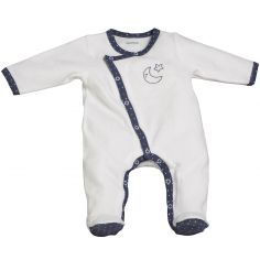 Pyjama chaud Merlin blanc (Naissance)