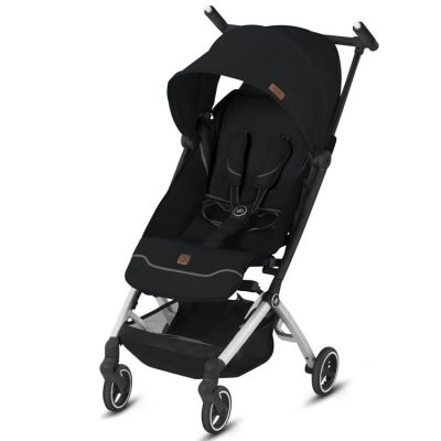 Poussette citadine Pockit+ noire Velvet Black Fashion Edition