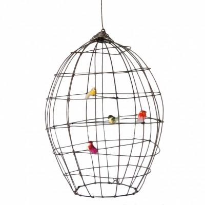 Cage volière décorative en fil de fer   par De Beaux Souvenirs