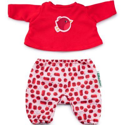 Pyjama oiseau rouge-gorge (pour poupée 36 cm)  par Lilliputiens