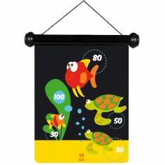 Jeu de fléchettes magnétiques vie marine